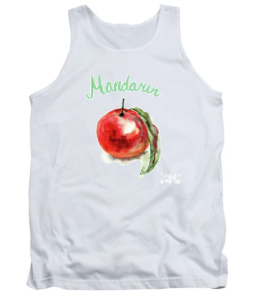 Mandarin Fruits Tank Top