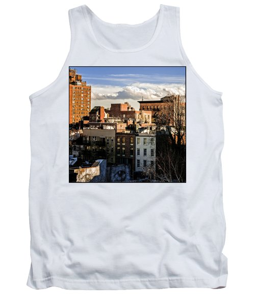 Manhattan From The Whitney Tank Top