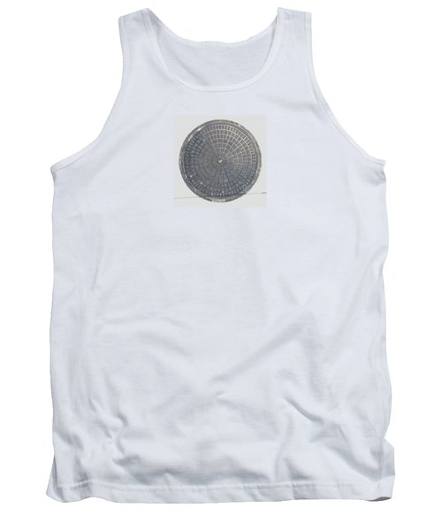 Manhole Cover Tank Top by Stan  Magnan