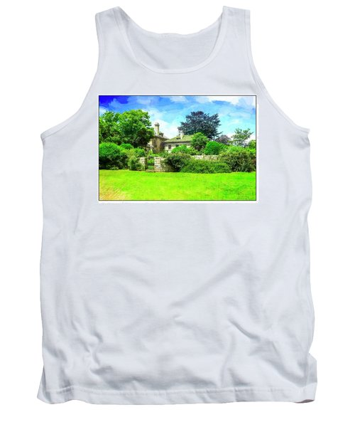 Mansion And Gardens At Harkness Park. Tank Top
