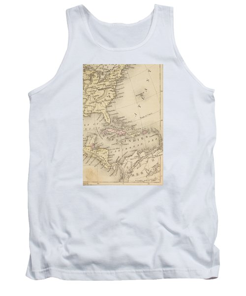 Map Tank Top by Sample
