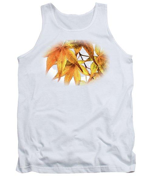 Maple Leaves Tank Top by Barry Jones