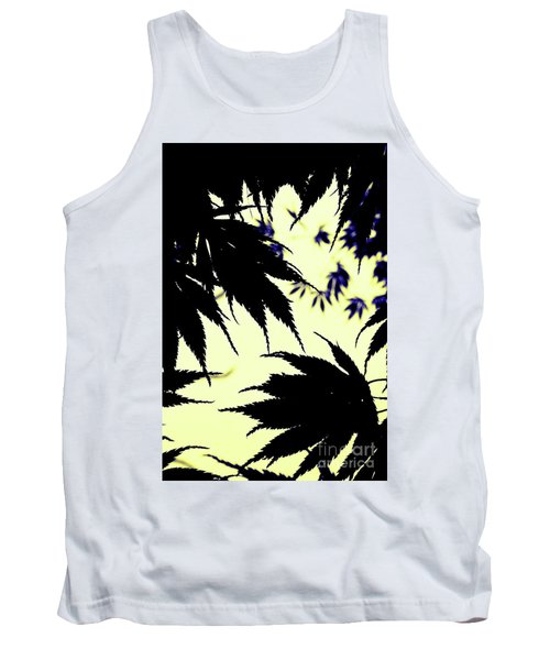 Maple Silhouette Tank Top