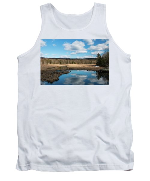 March Afternoon At Black Creek Tank Top