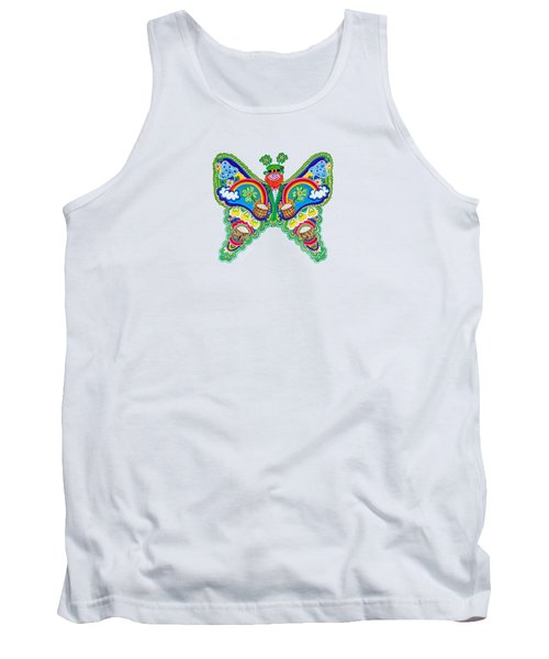 March Butterfly Tank Top
