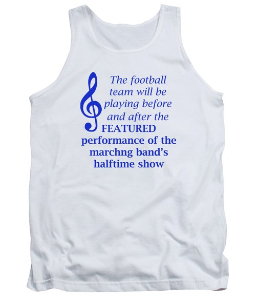 Marching Performance Tank Top