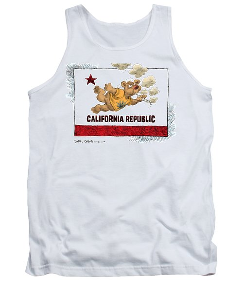 Marijuana Referendum In California Tank Top