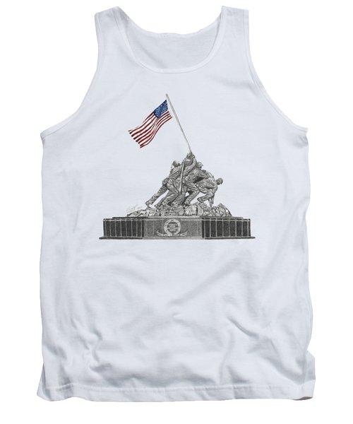 Marine Corps War Memorial - Iwo Jima Tank Top