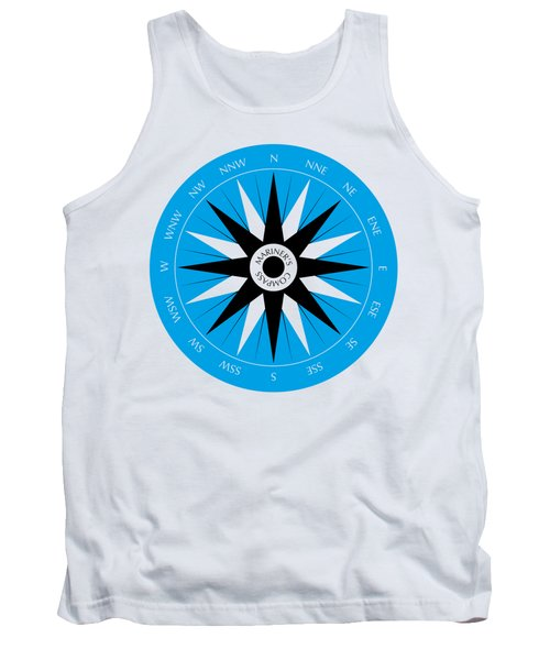 Mariner's Compass Tank Top by Frank Tschakert