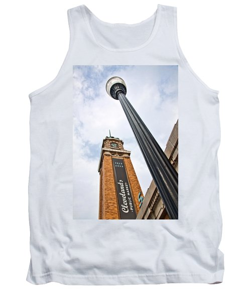Market Clock Tower Tank Top