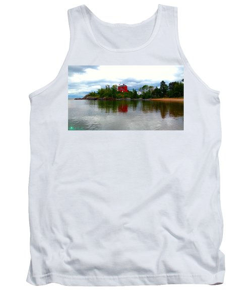 Marquette Lighthouse Tank Top
