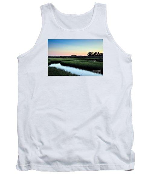 Marsh Sunset Tank Top