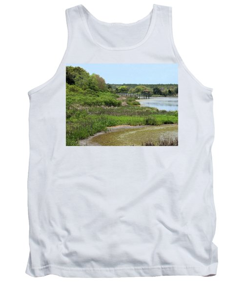 Marshlands Tank Top by Cathy Harper