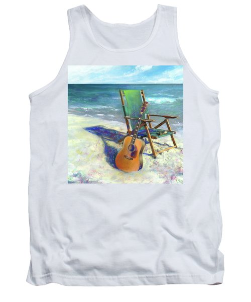 Martin Goes To The Beach Tank Top