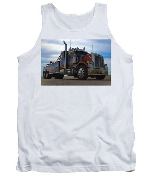 Marvins Big Rig Cars Movie Tribute Tow Truck Tank Top by Tim McCullough