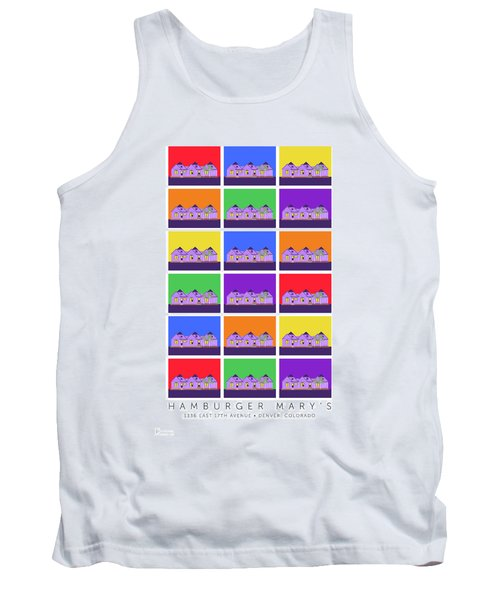 Mary Montage Tank Top