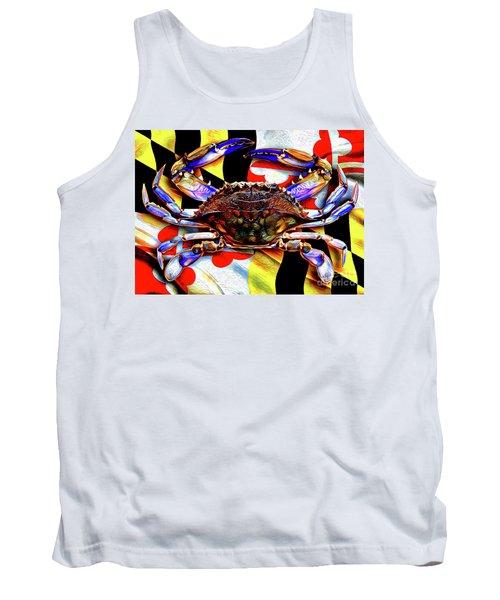Maryland Blue Crab Tank Top