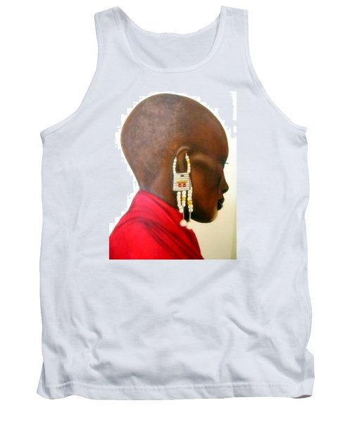 Masai Woman - Original Artwork Tank Top