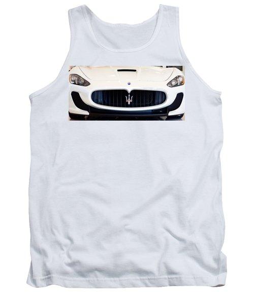 Maserati White Pano 121715 Tank Top