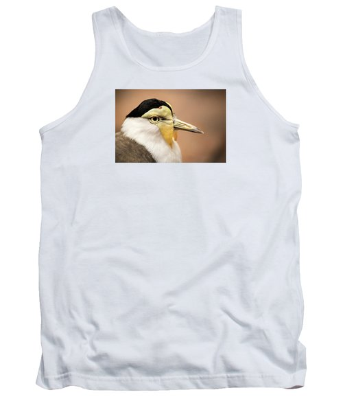 Masked Lapwing Tank Top by Don Johnson