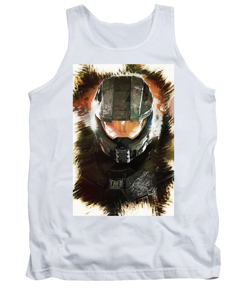 Master Chief Tank Top