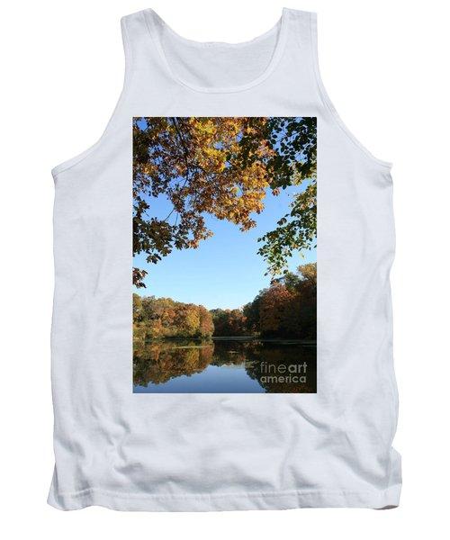 Matthiessen Lake In Autumn Tank Top