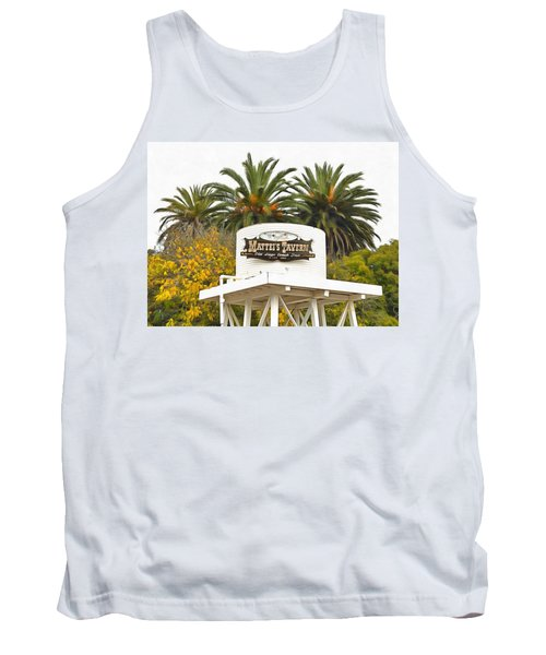 Tank Top featuring the photograph Matties Tavern Los Olivos California by Floyd Snyder