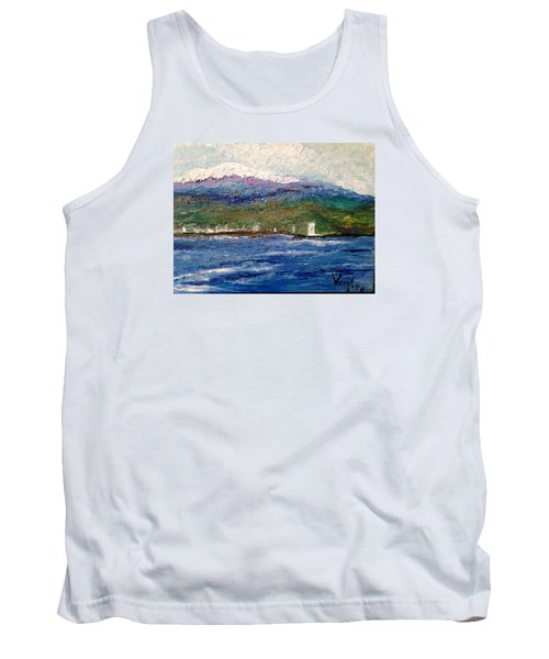 Mauna Kea At Hilo Bay Tank Top