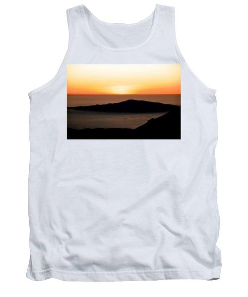 Tank Top featuring the photograph Mauna Kea Sunset by Jennifer Ancker