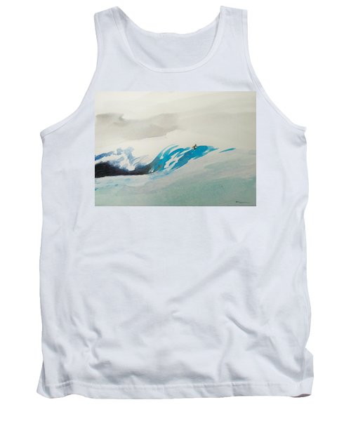 Tank Top featuring the painting Mavericks by Ed Heaton