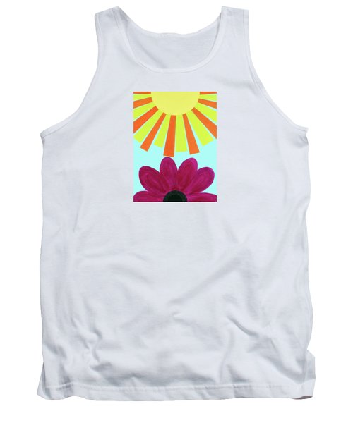 May Flowers Tank Top