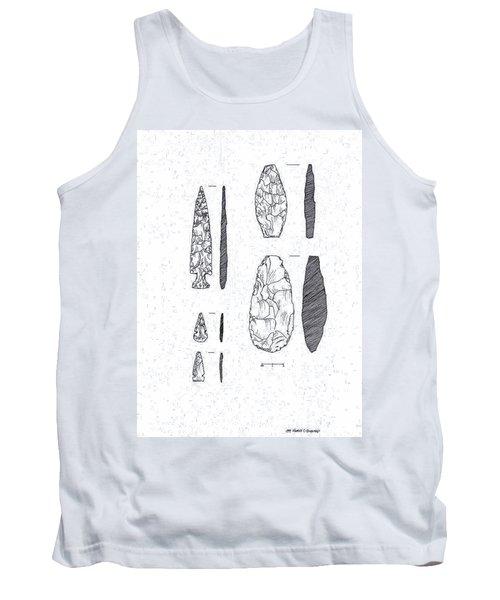 Maya Stone Tools Tank Top