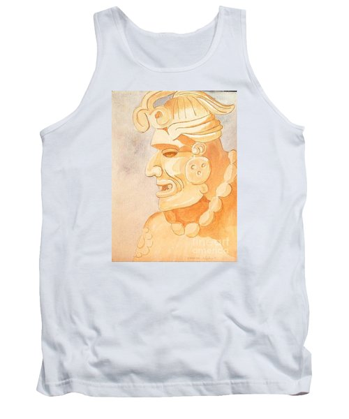 Mayan Warrior Tank Top by Fred Jinkins