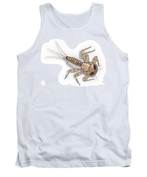 Mayfly Larva Nymph Rithorgena Ecdyonurus Venosus - Moscas De May Tank Top