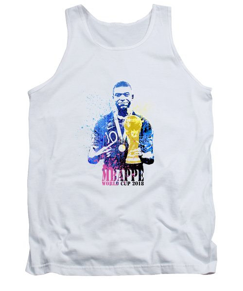 Mbappe And World Cup 2018 #france Tank Top