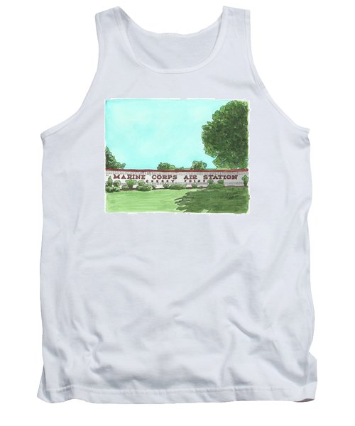 Mcas Cherry Point Welcome Tank Top