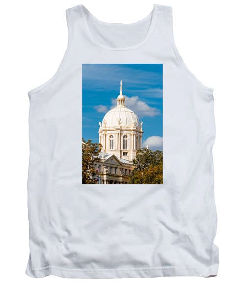 Mclennan County Courthouse Dome By J. Reily Gordon - Waco Central Texas Tank Top