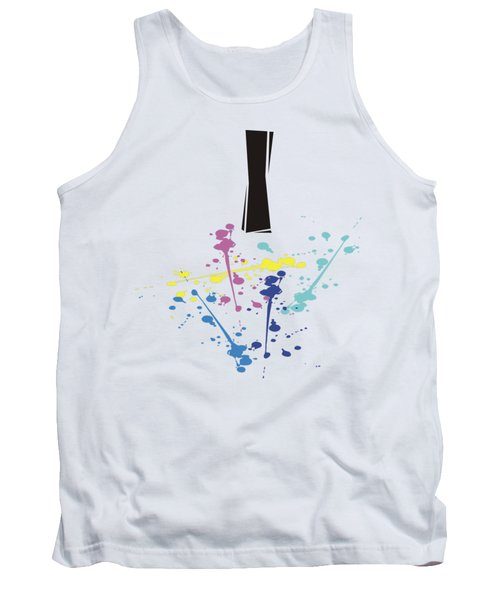 Me Myself And I Tank Top by Jacquie King