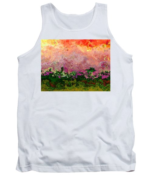Meadow Morning Tank Top by Wendy J St Christopher
