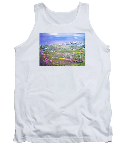 Meadow Sky By Colleen Ranney Tank Top