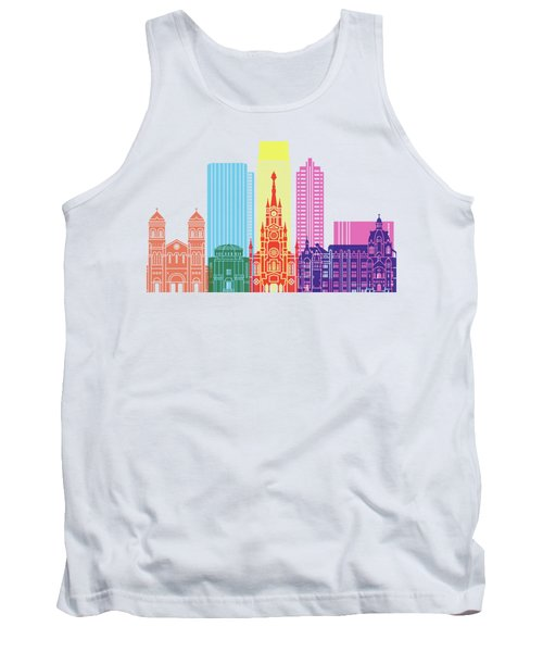 Medellin Skyline Pop Tank Top