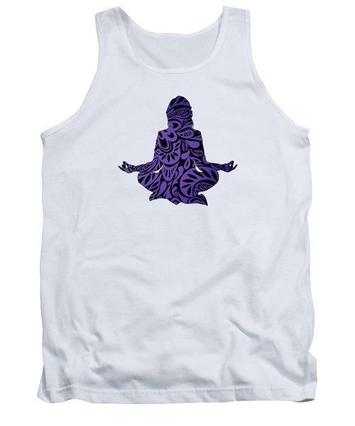 Meditate Ultraviolet Tank Top
