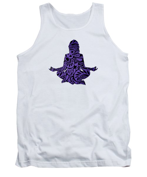 Meditate Ultraviolet Tank Top