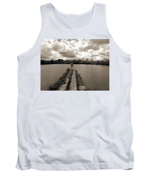 Meditation Tank Top by Beto Machado