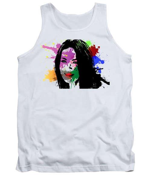 Megan Fox Pop Art Tank Top