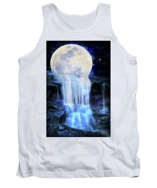 Melted Moon Tank Top