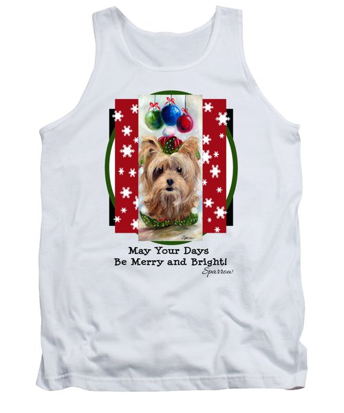 Merry And Bright Tank Top