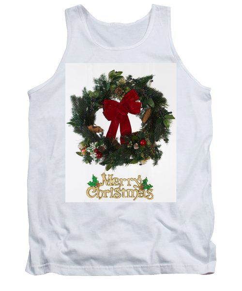 Merry Christmas Tank Top by Kenneth Cole