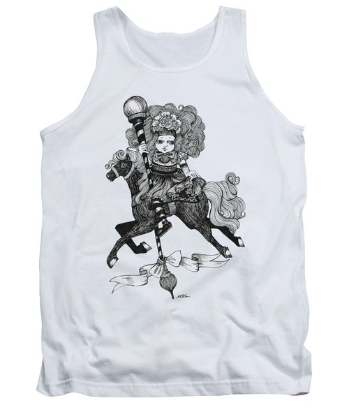 Merry-go-round Girl Tank Top