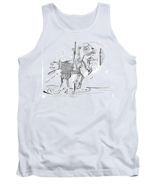 Merry-go-round Horse Tank Top